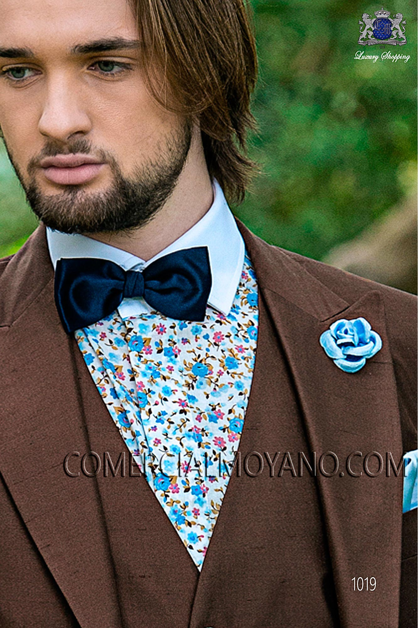 Hipster brown men wedding suit, model: 1019 Mario Moyano Hipster Collection