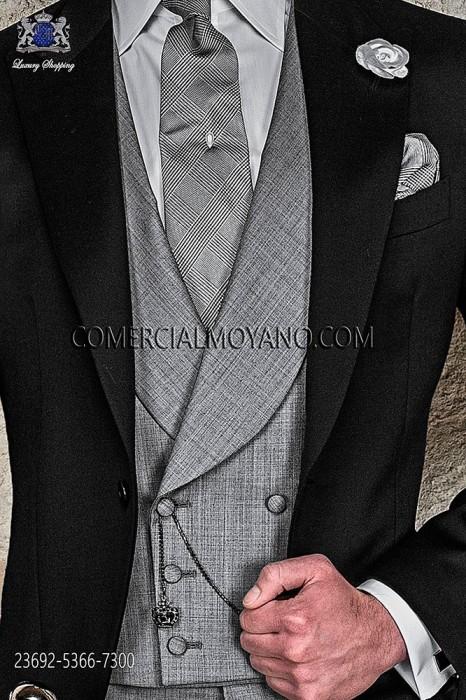 Traje Gentleman de novio gris modelo: 1196 Ottavio Nuccio Gala colección Gentleman