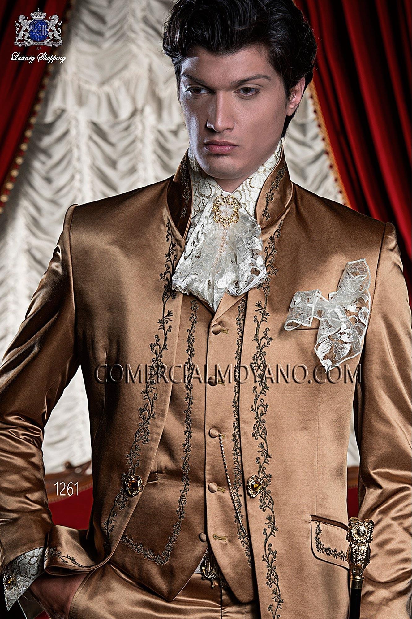 Traje barroco de novio oro viejo modelo: 1261 Ottavio Nuccio Gala colección Barroco
