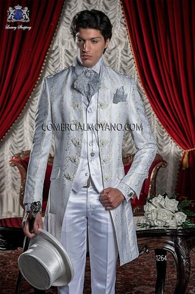 Traje de novio barroco blanco modelo 1264 Ottavio Nuccio Gala colección Barroco