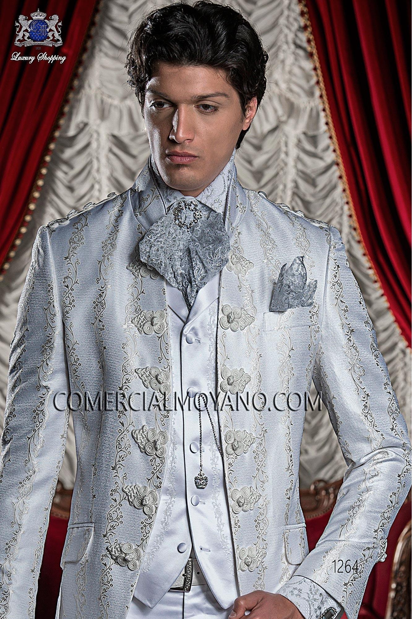 Traje barroco de novio blanco modelo: 1264 Ottavio Nuccio Gala colección 2017 Barroco