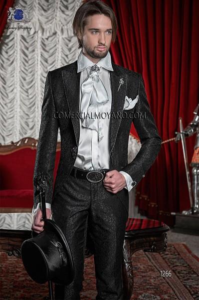 Traje de novio barroco negro modelo 1266 Ottavio Nuccio Gala colección Barroco