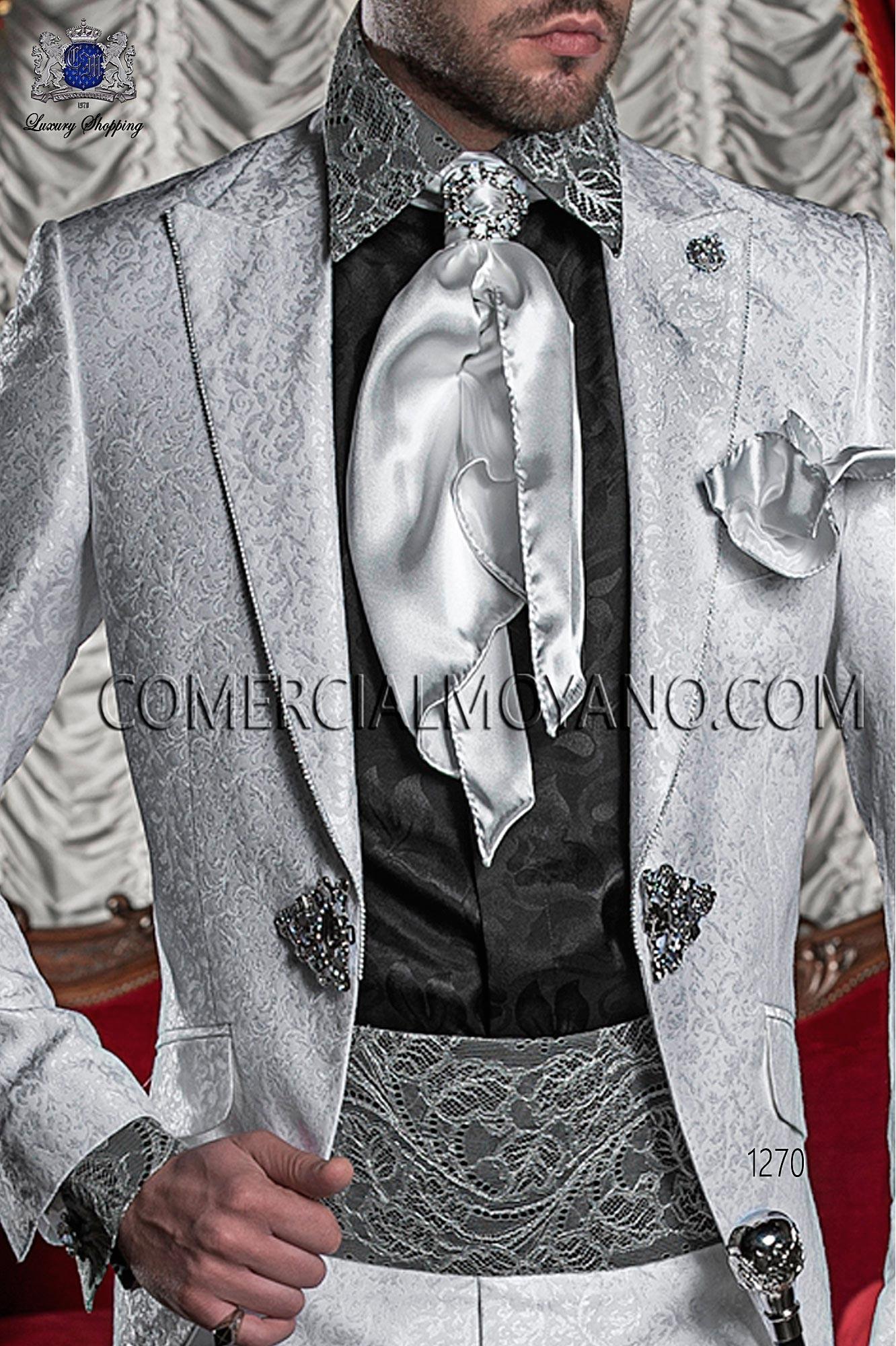 Traje barroco de novio blanco modelo: 1270 Ottavio Nuccio Gala colección 2017 Barroco