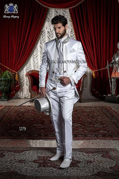 Traje de novio barroco blanco modelo 1279 Ottavio Nuccio Gala colección Barroco