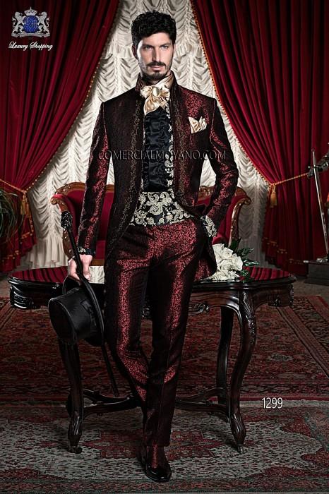 Traje de novio barroco rojo modelo: 1299 Ottavio Nuccio Gala colección 2017 Barroco