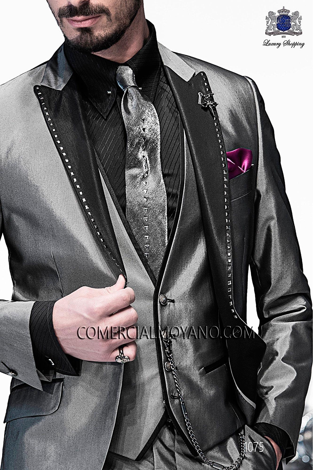 Italian emotion gray men wedding suit, model: 1075 Ottavio Nuccio Gala Emotion Collection