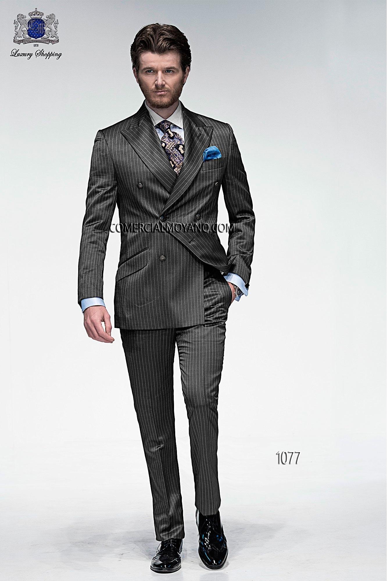 Traje de moda hombre gris modelo: 1077 Ottavio Nuccio Gala colección Emotion