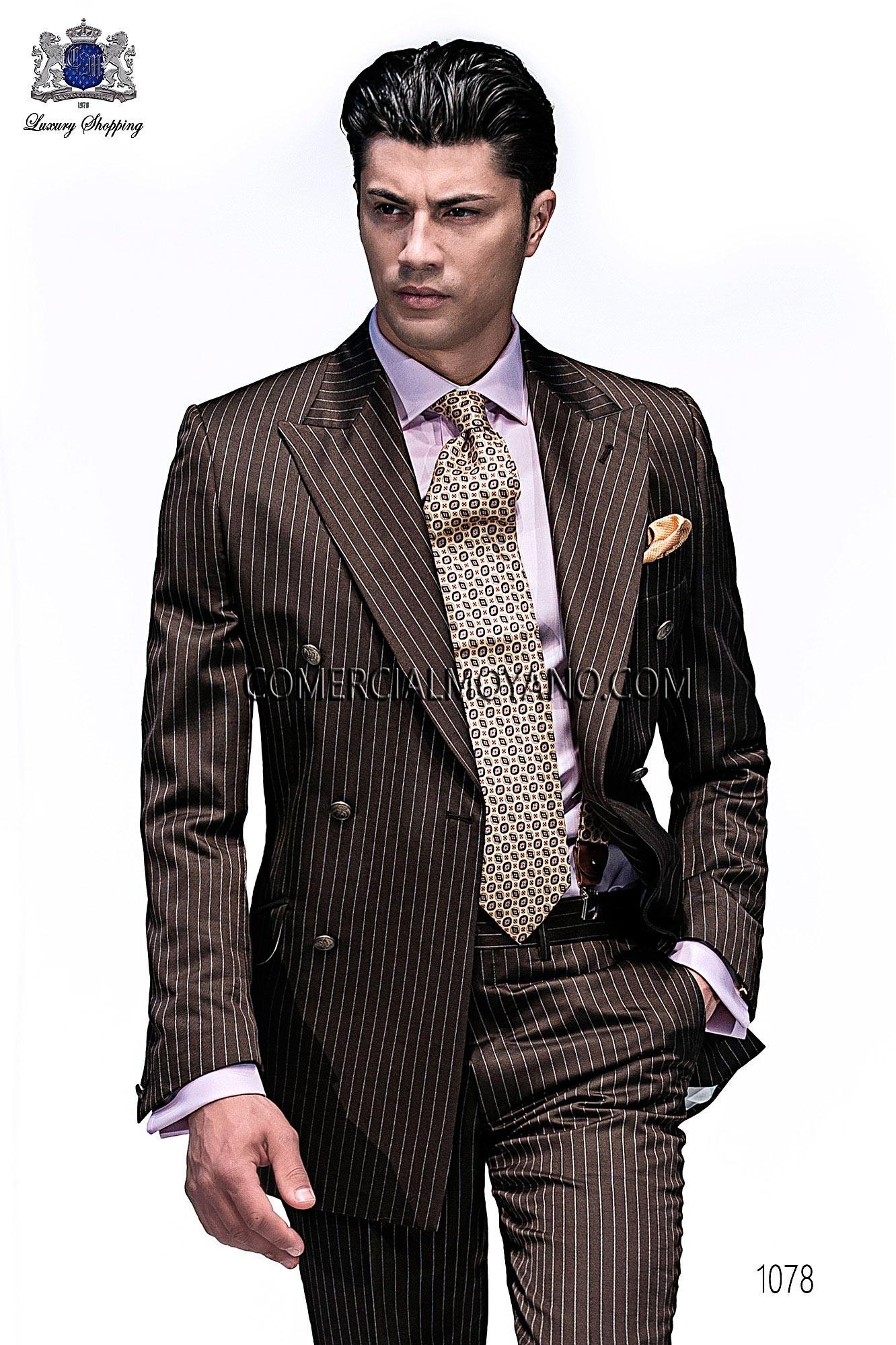 Traje Emotion de novio marrón modelo: 1078 Ottavio Nuccio Gala colección Emotion