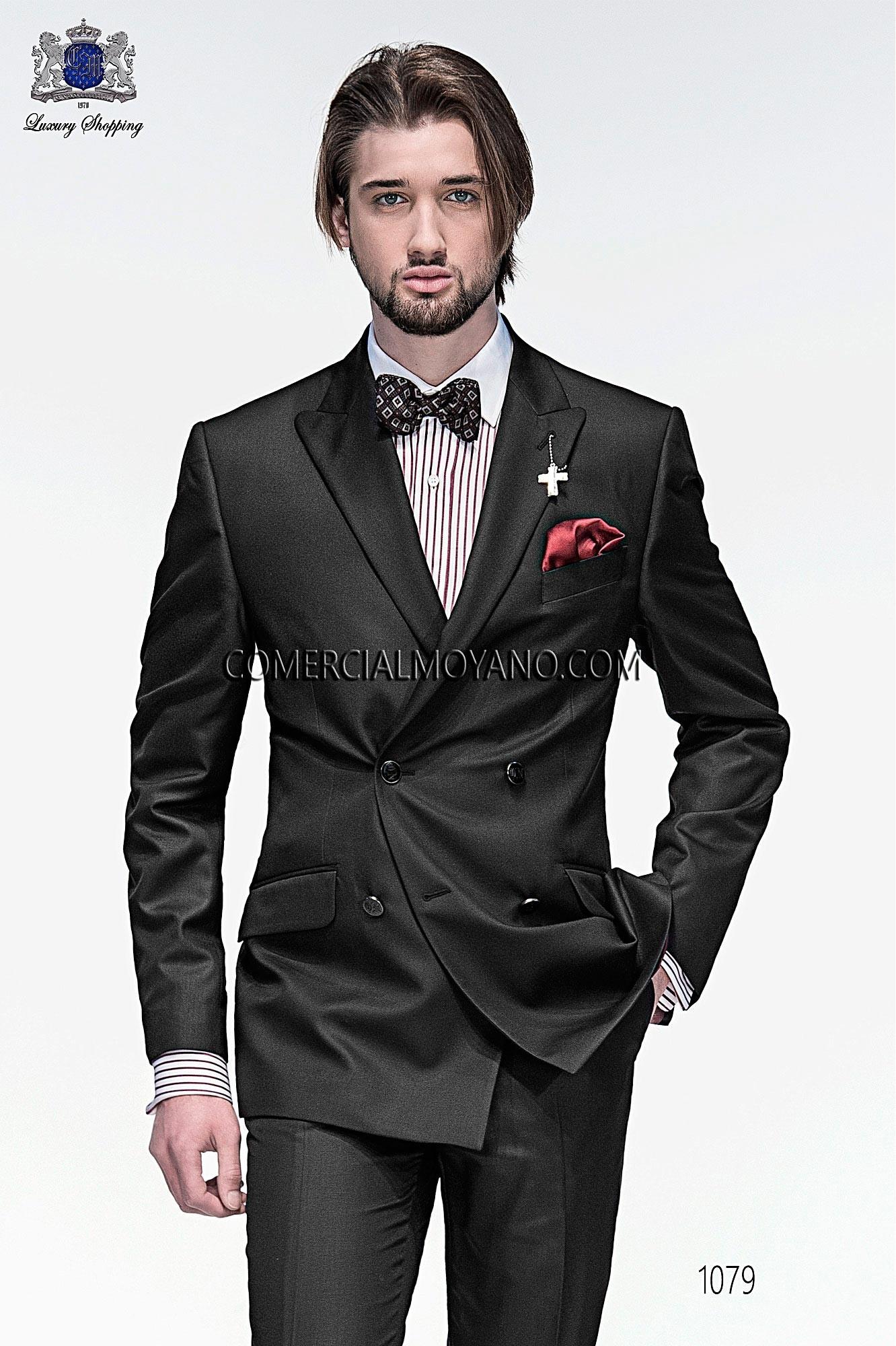 Traje Emotion de novio negro modelo: 1079 Ottavio Nuccio Gala colección Emotion