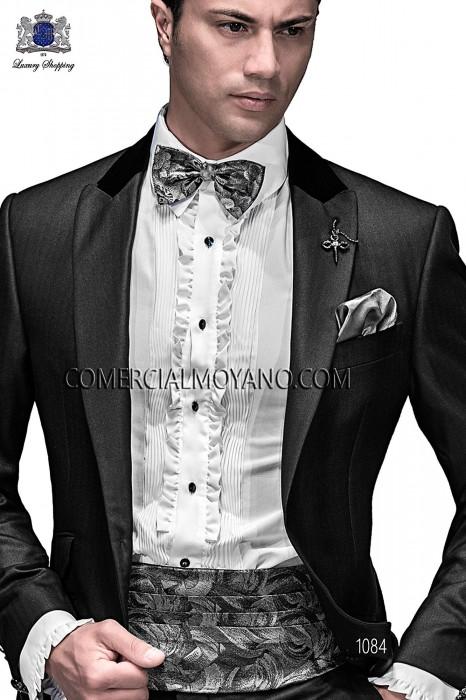 Traje Emotion de novio negro modelo: 1084 Ottavio Nuccio Gala colección Emotion