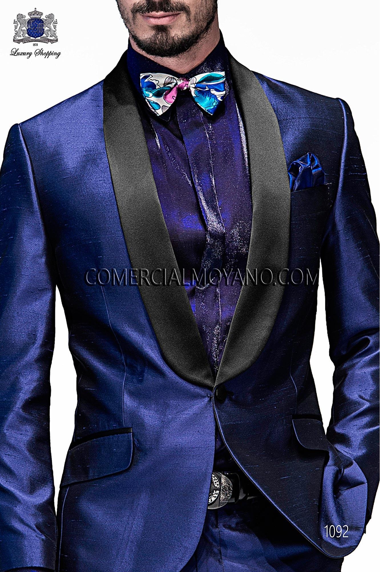 Italian emotion blue men wedding suit, model: 1092 Ottavio Nuccio Gala Emotion Collection