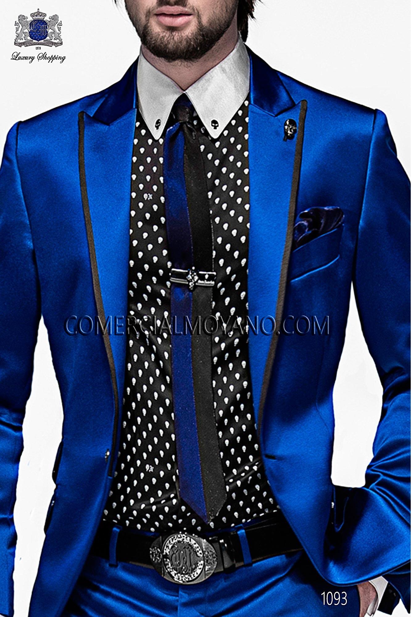 Italian emotion blue men wedding suit, model: 1093 Ottavio Nuccio Gala 2017 Emotion Collection