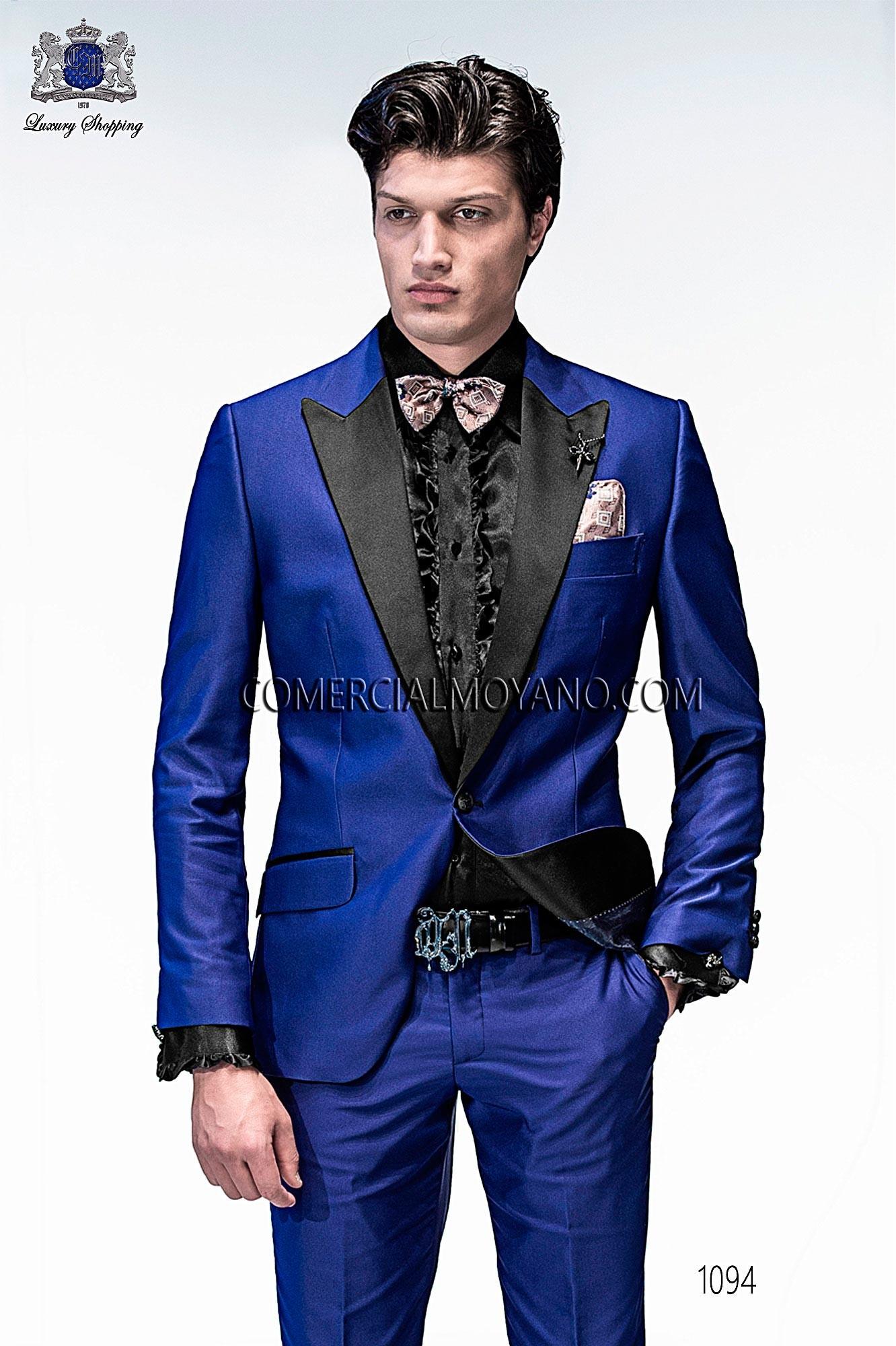 Traje Emotion de novio azul modelo: 1094 Ottavio Nuccio Gala colección Emotion 2017