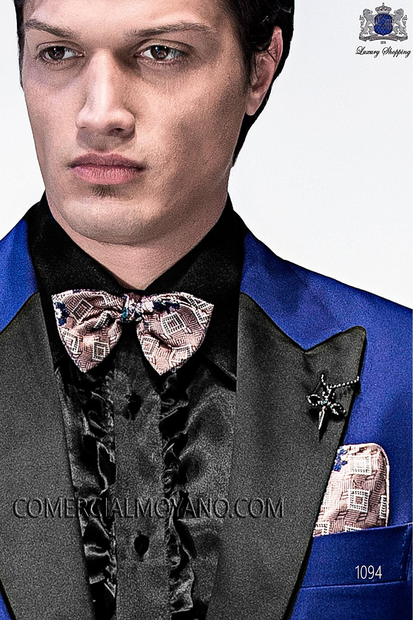 Italian emotion blue men wedding suit, model: 1094 Ottavio Nuccio Gala Emotion Collection