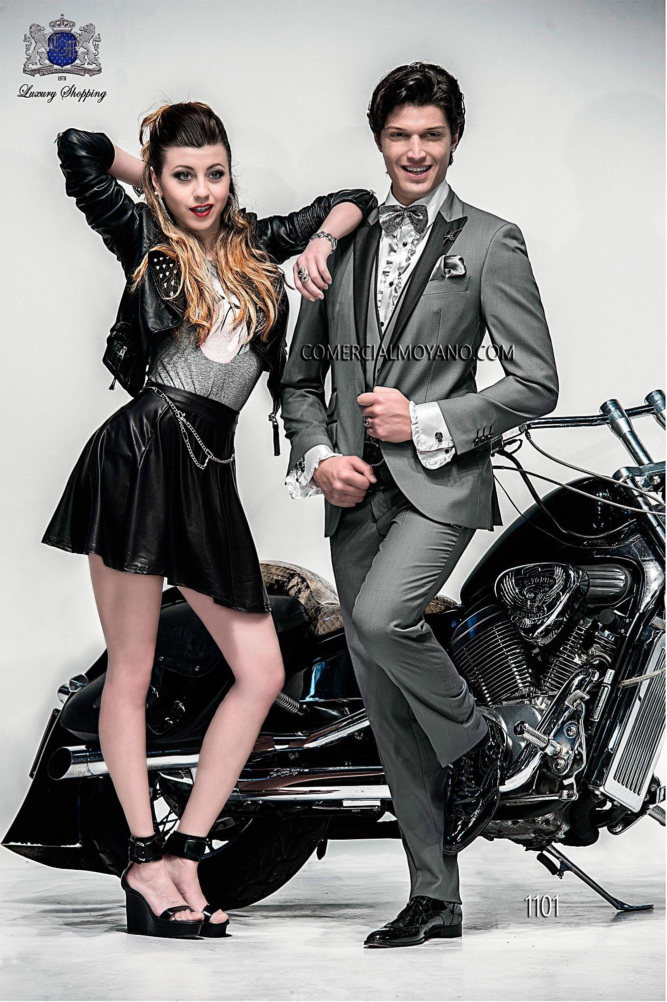 Traje de moda hombre gris modelo: 1101 Ottavio Nuccio Gala colección Emotion