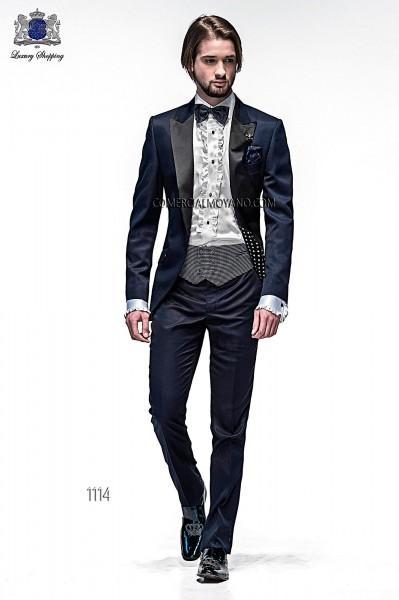 Italian emotion blue men wedding suit style 1114 Ottavio Nuccio Gala