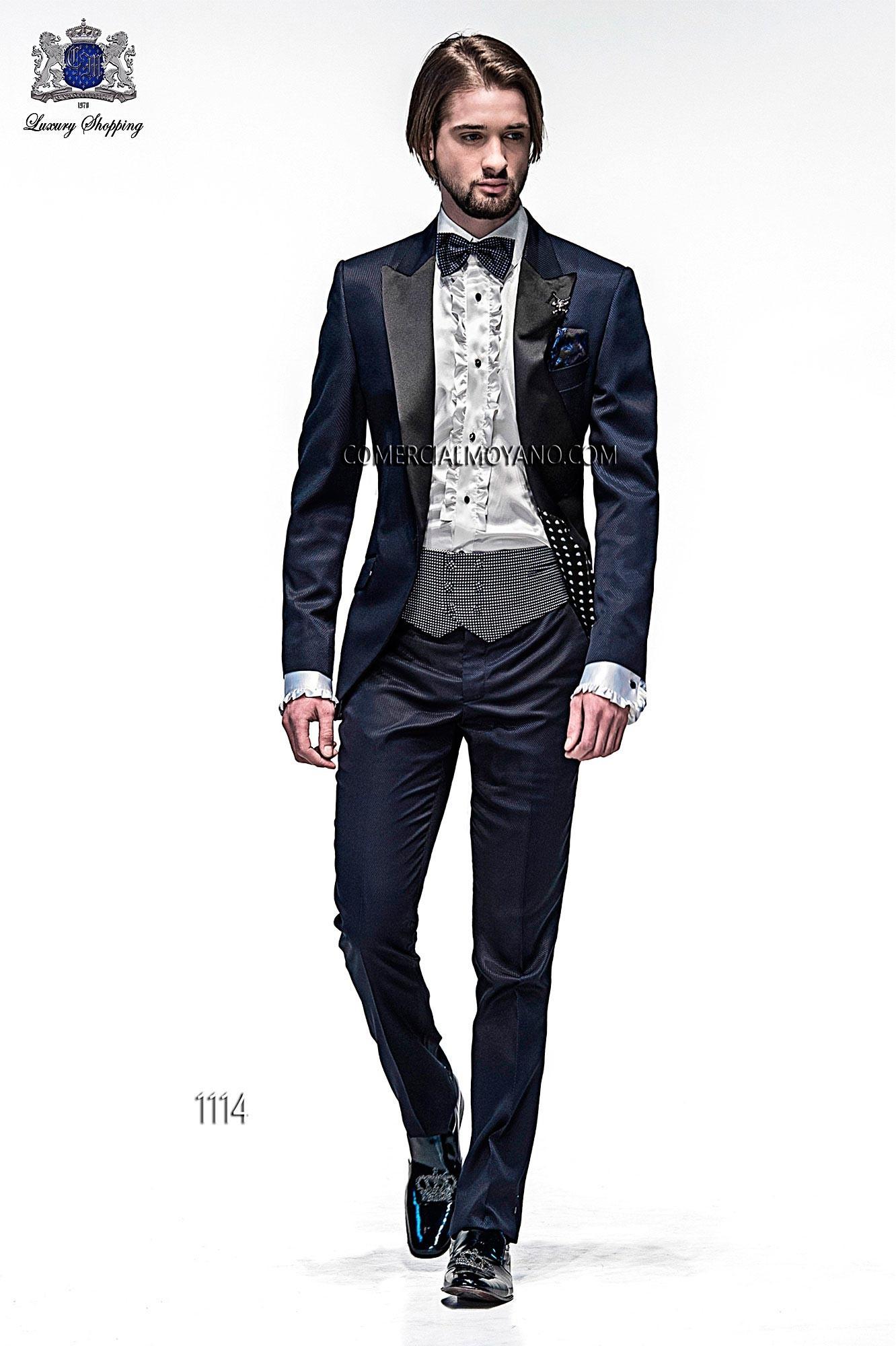 Traje de moda hombre azul modelo: 1114 Ottavio Nuccio Gala colección Emotion