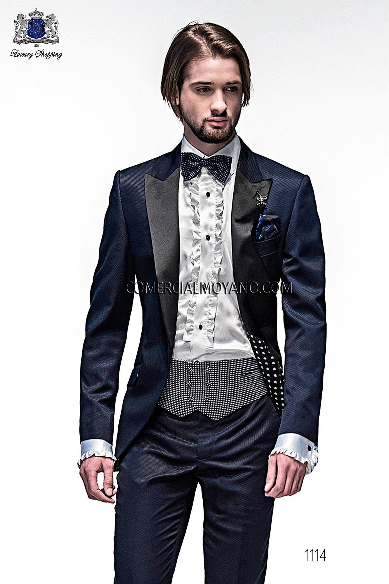 Traje Emotion de novio azul modelo: 1114 Ottavio Nuccio Gala colección Emotion