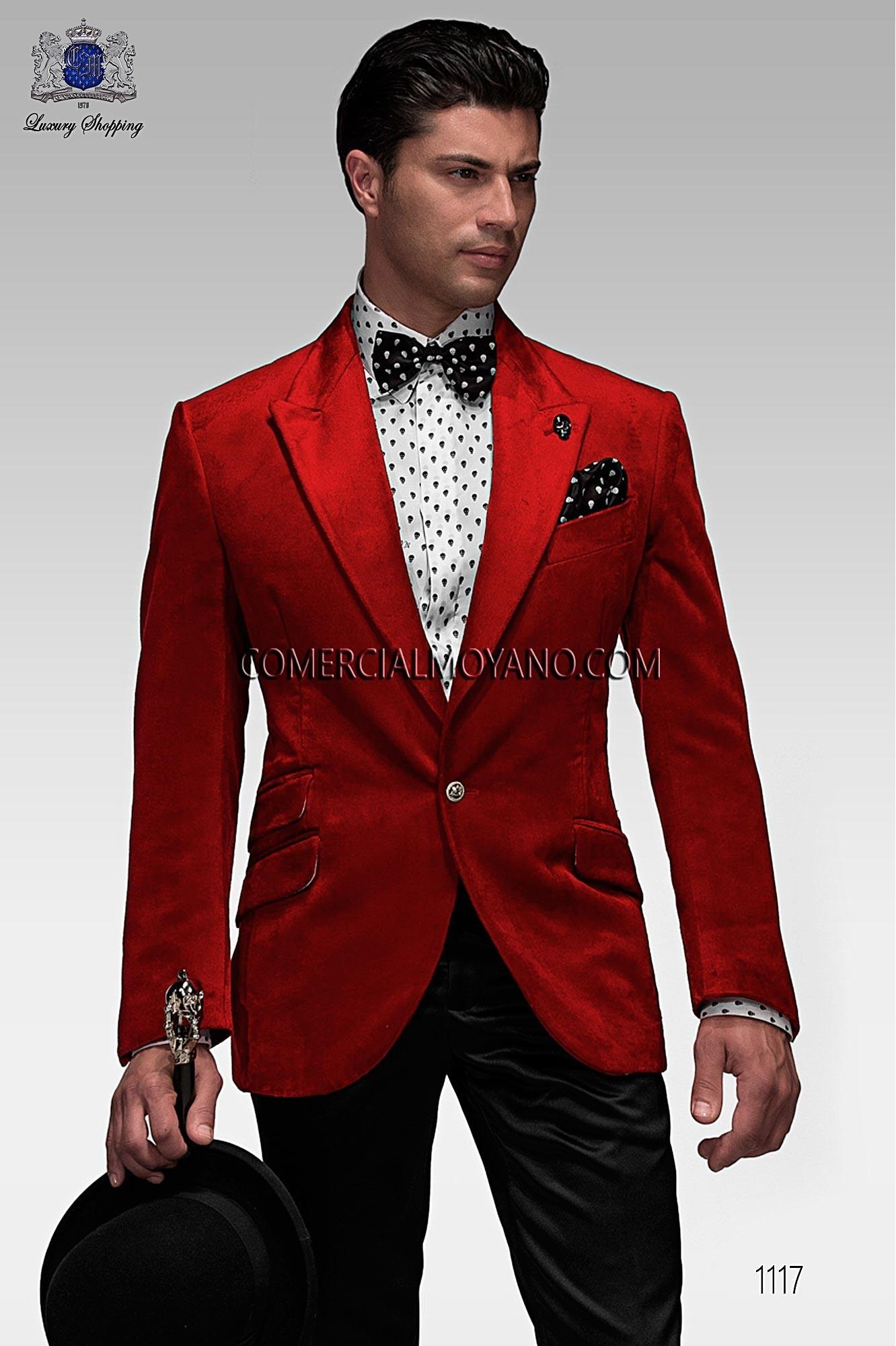 Traje Emotion de novio rojo modelo: 1117 Ottavio Nuccio Gala colección Emotion