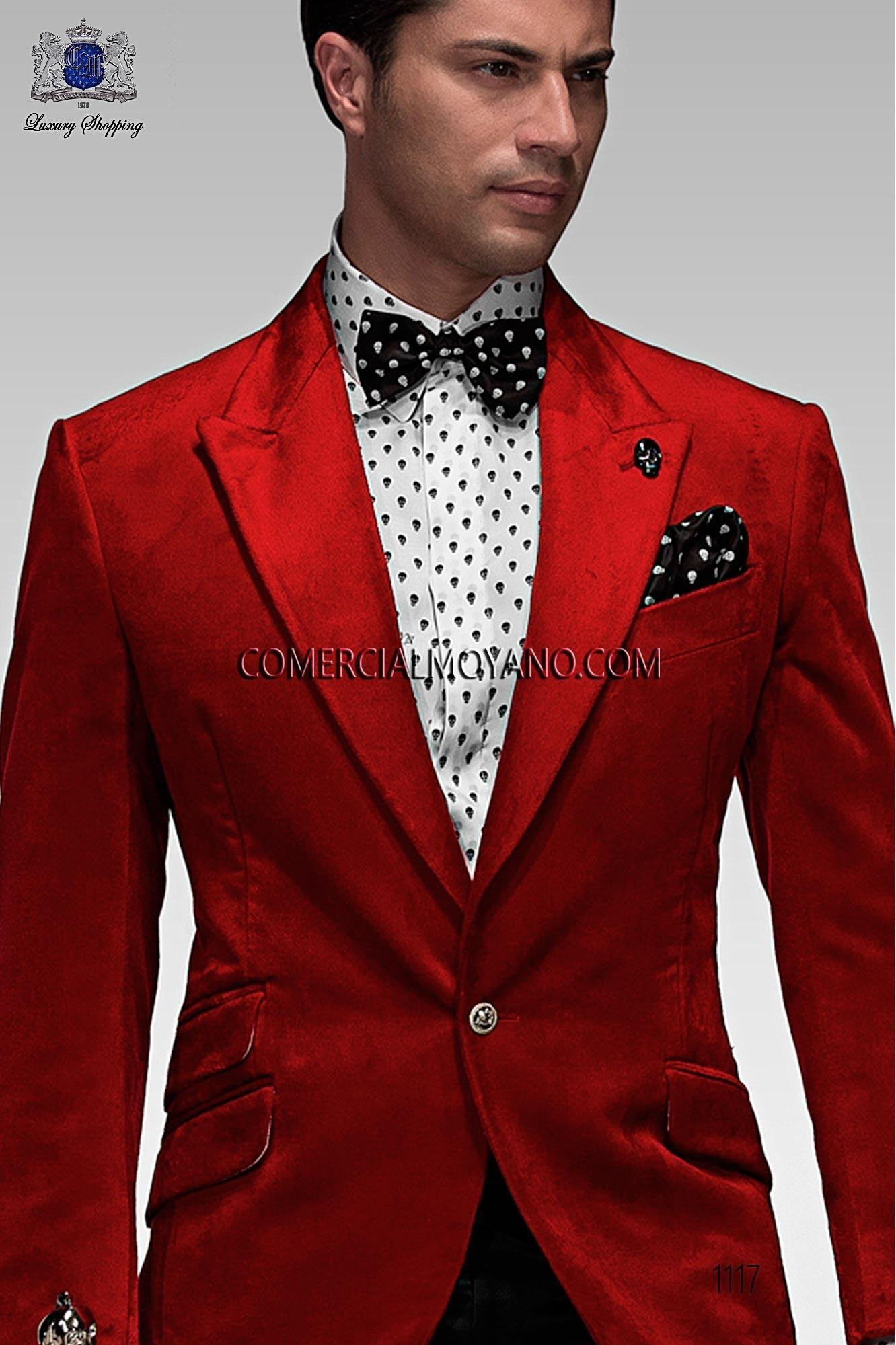 Red Groom Dress