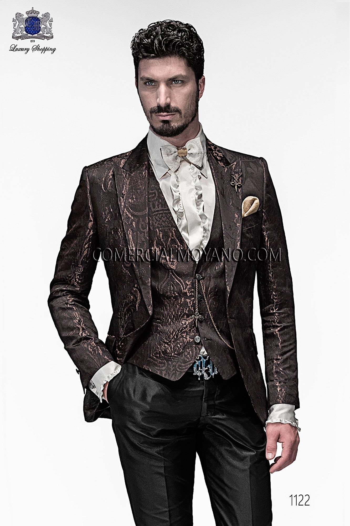 Traje Emotion de novio marrón modelo: 1122 Ottavio Nuccio Gala colección Emotion