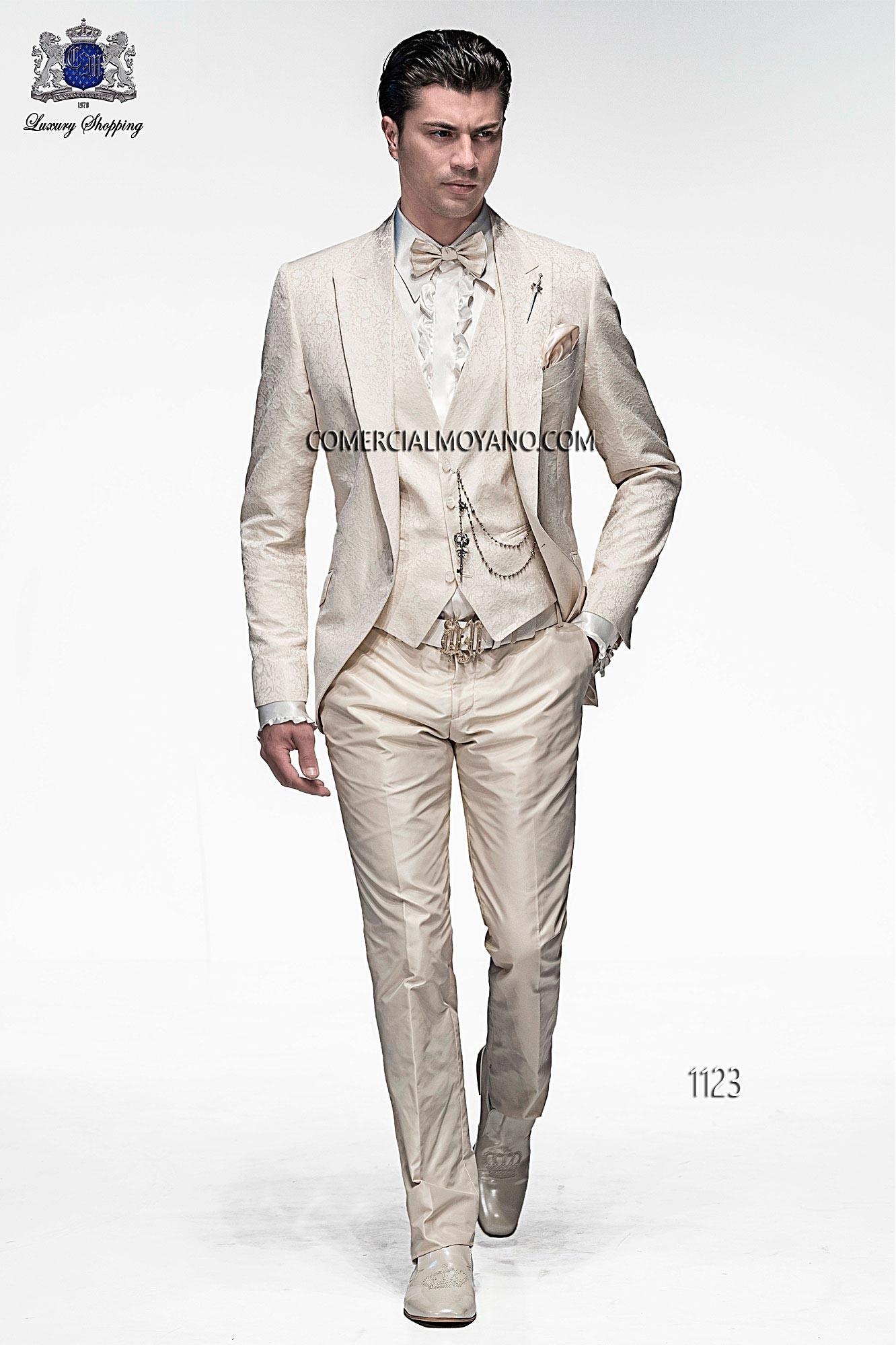 Traje de moda hombre crudo modelo: 1123 Ottavio Nuccio Gala colección Emotion 2017