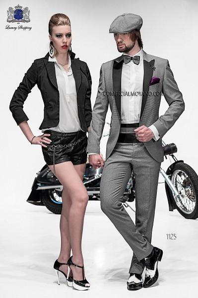 Italian emotion gray men wedding suit style 1125 Ottavio Nuccio Gala