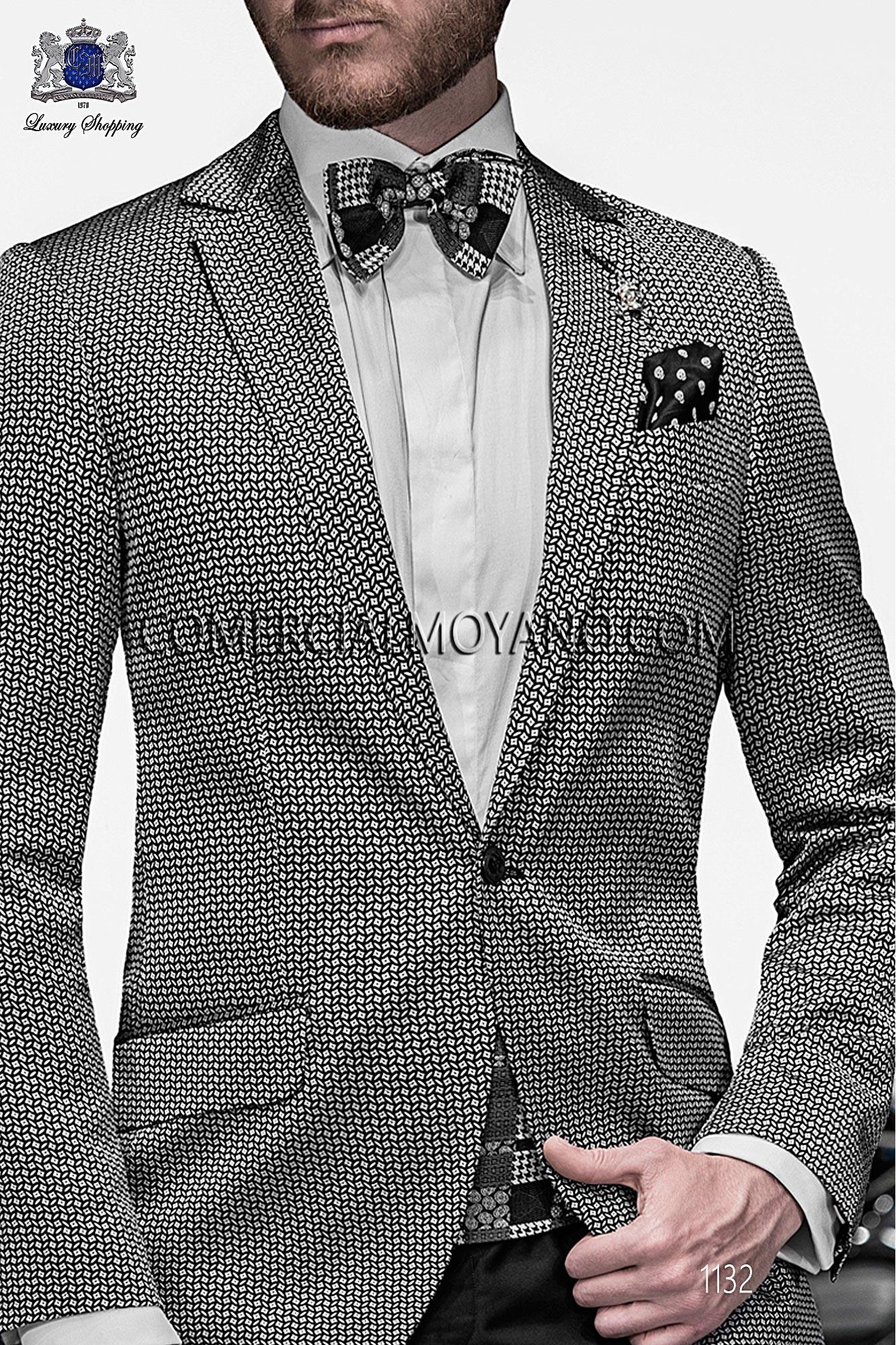 Traje Emotion de novio negro/plata modelo: 1132 Ottavio Nuccio Gala colección Emotion