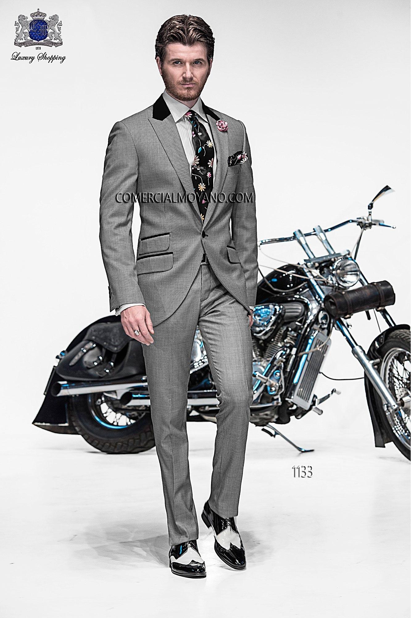 Traje de moda hombre gris modelo: 1133 Ottavio Nuccio Gala colección Emotion 2017
