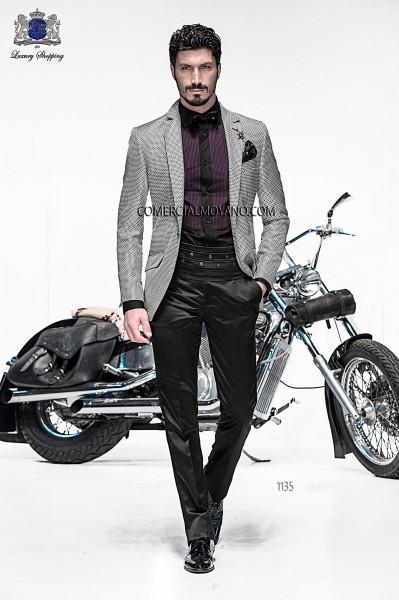Italian emotion gray men wedding suit style 1135 Ottavio Nuccio Gala