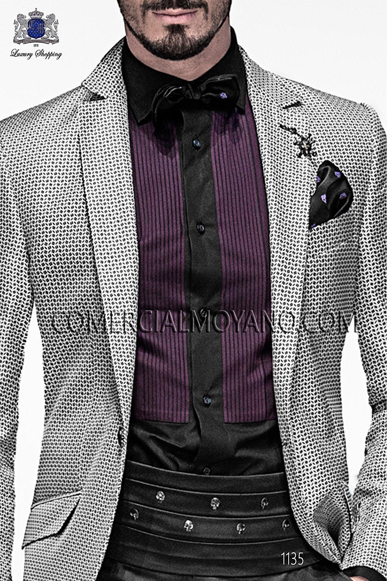 Italian emotion gray men wedding suit, model: 1135 Ottavio Nuccio Gala Emotion Collection