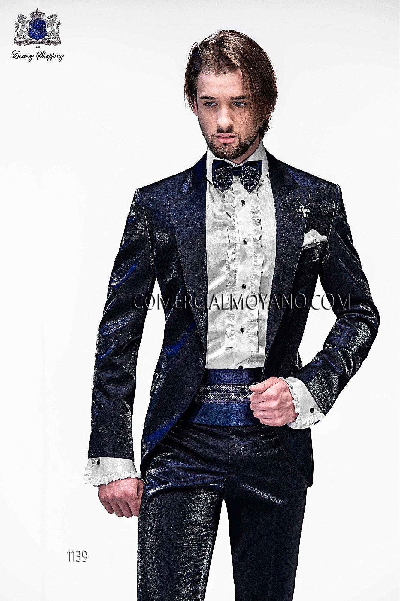 Traje de moda hombre azul modelo: 1139 Ottavio Nuccio Gala colección Emotion 2017