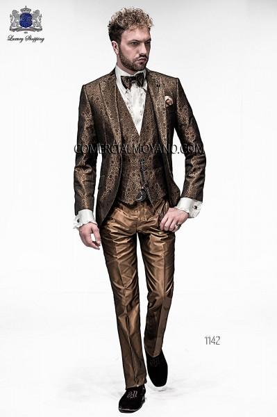 Italian emotion gold men wedding suit style 1142 Ottavio Nuccio Gala