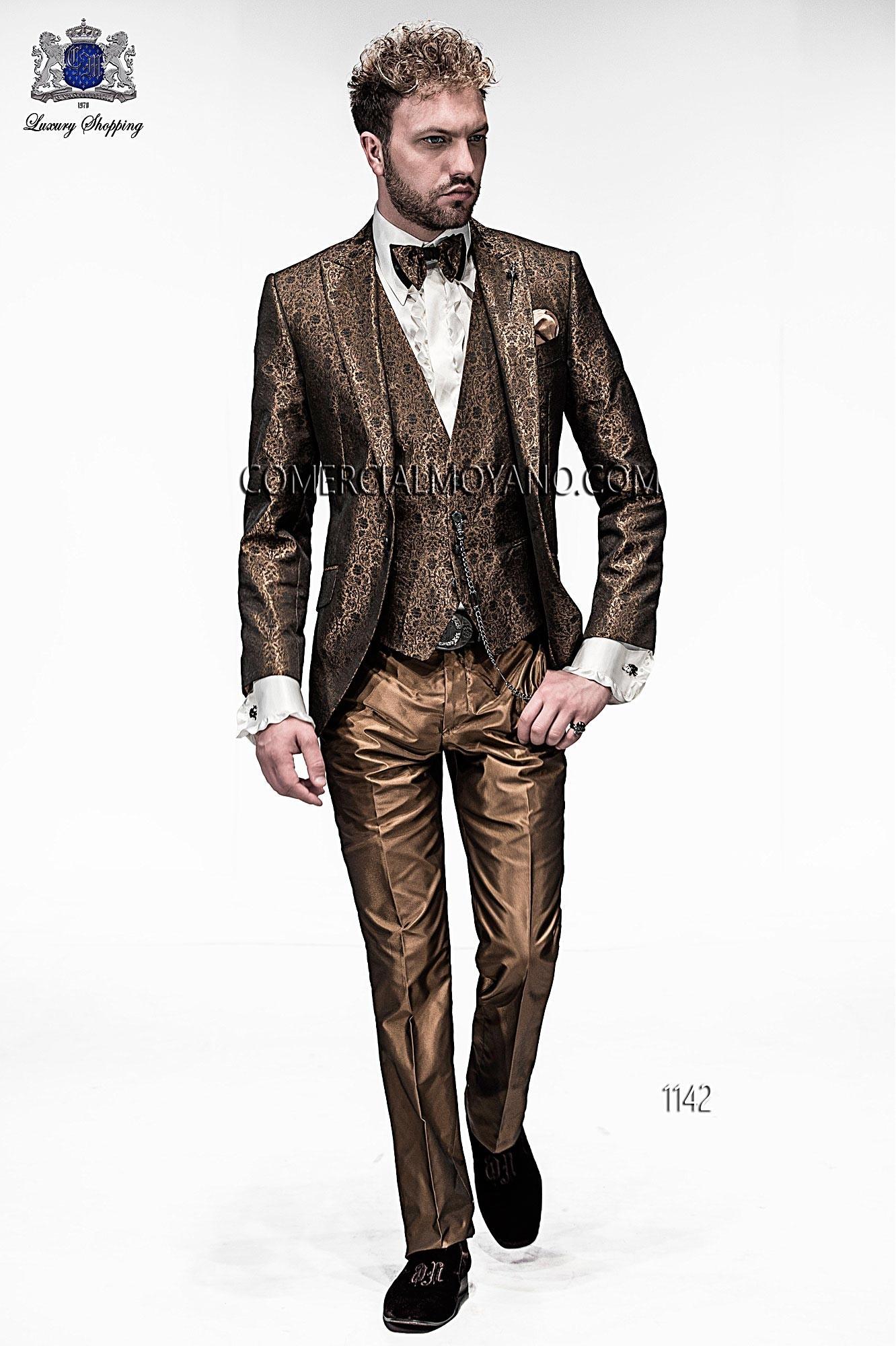 Traje de moda hombre oro modelo: 1142 Ottavio Nuccio Gala colección Emotion