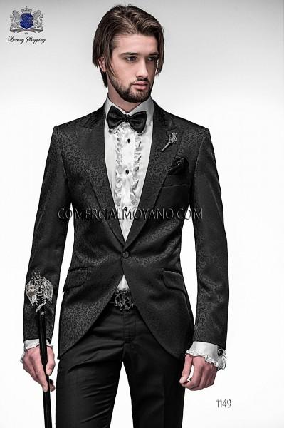 Italian emotion black men wedding suit style 1149 Ottavio Nuccio Gala