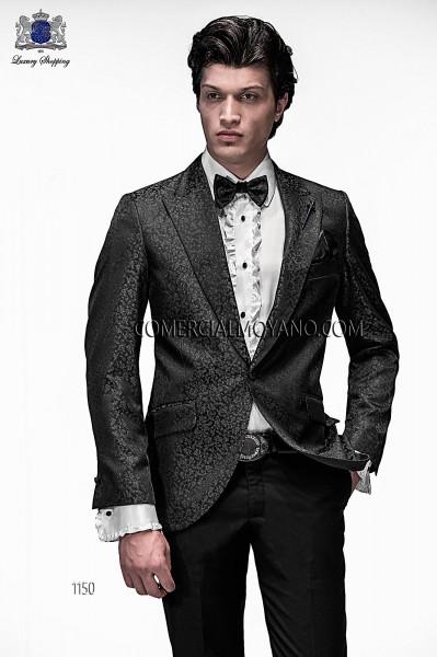 Traje de novio moderno negro/gris modelo 1150 colección Emotion Ottavio Nuccio Gala