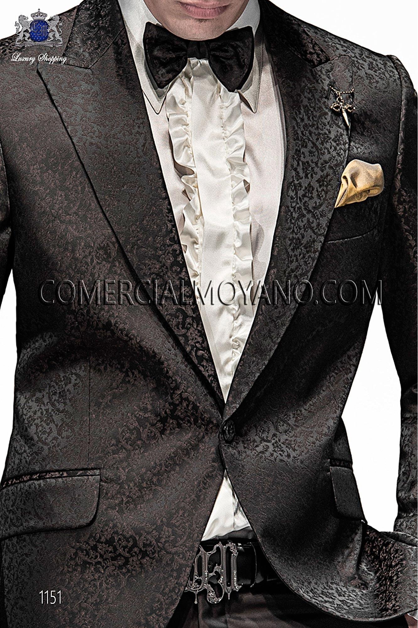 Italian emotion black/gold men wedding suit, model: 1151 Ottavio Nuccio Gala Emotion Collection