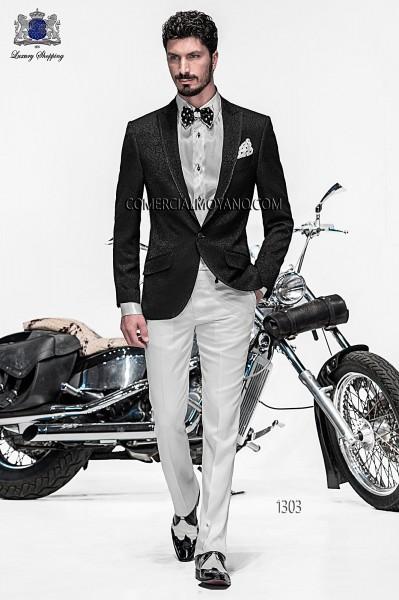Italian emotion white men wedding suit style 1303 Ottavio Nuccio Gala