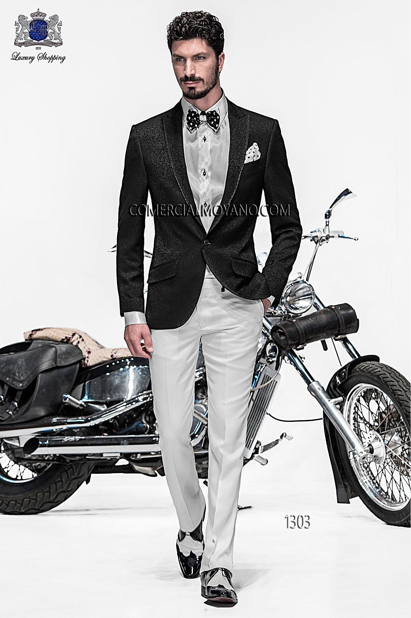 Emotion black men wedding suit model 1303 Ottavio Nuccio Gala