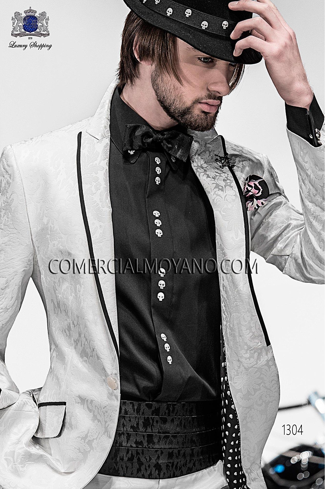 Traje Emotion de novio blanco modelo: 1304 Ottavio Nuccio Gala colección Emotion