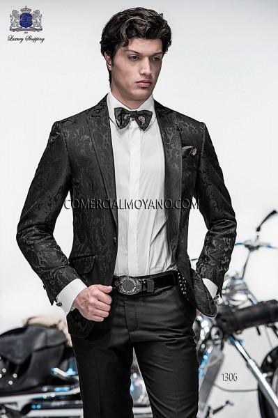 Traje de novio moderno negro modelo 1306 colección Emotion Ottavio Nuccio Gala
