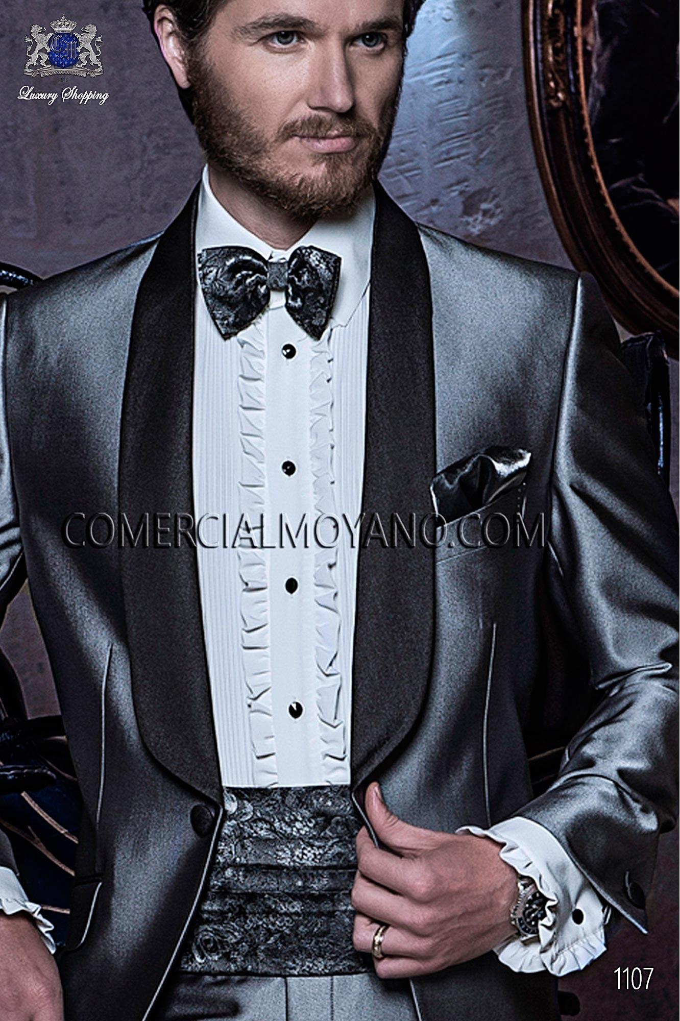 Italian blacktie Gray men wedding suit, model: 1107 Ottavio Nuccio Gala Black Tie Collection