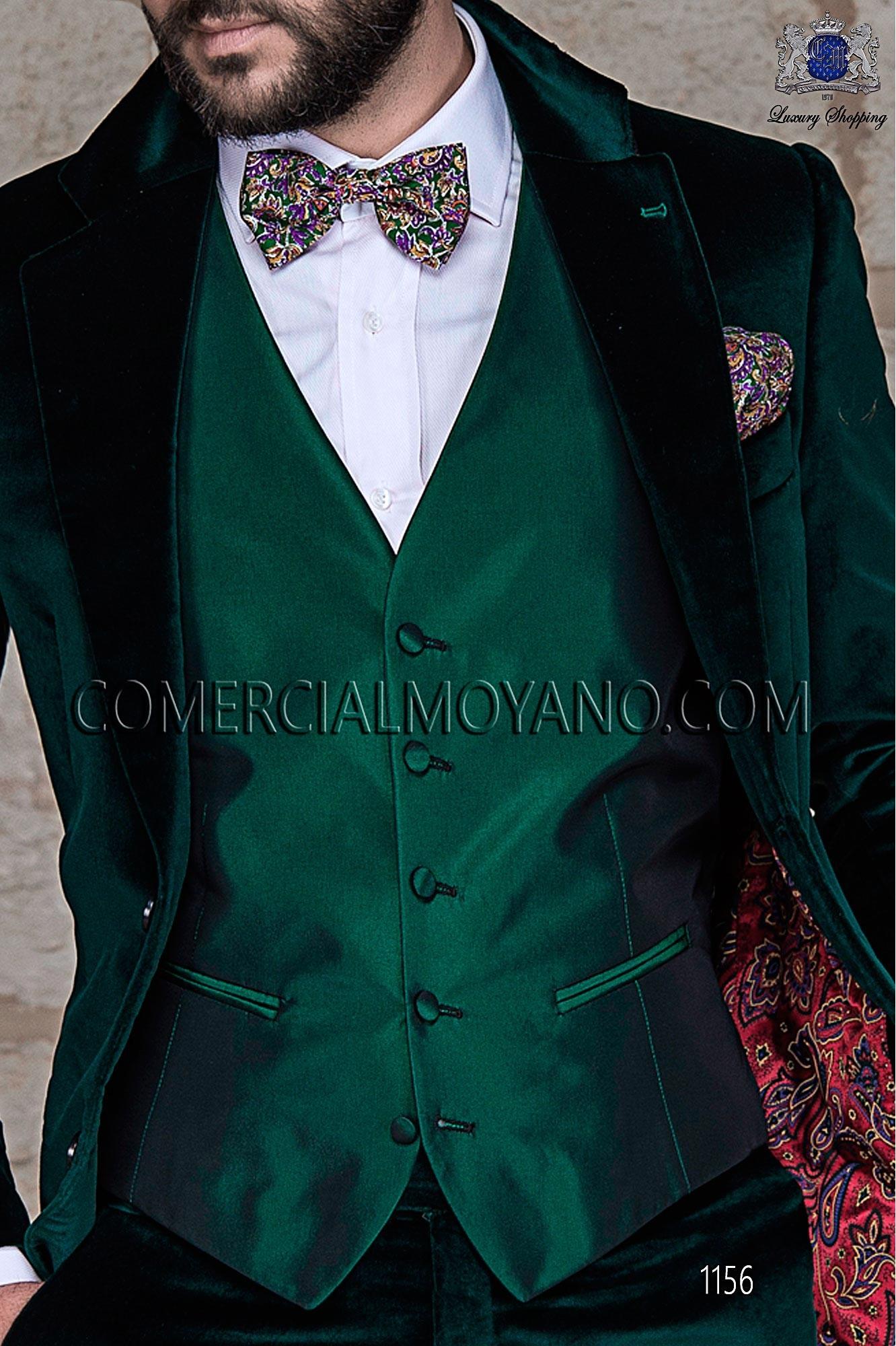 Italian blacktie green men wedding suit, model: 1156 Ottavio Nuccio Gala Black Tie Collection