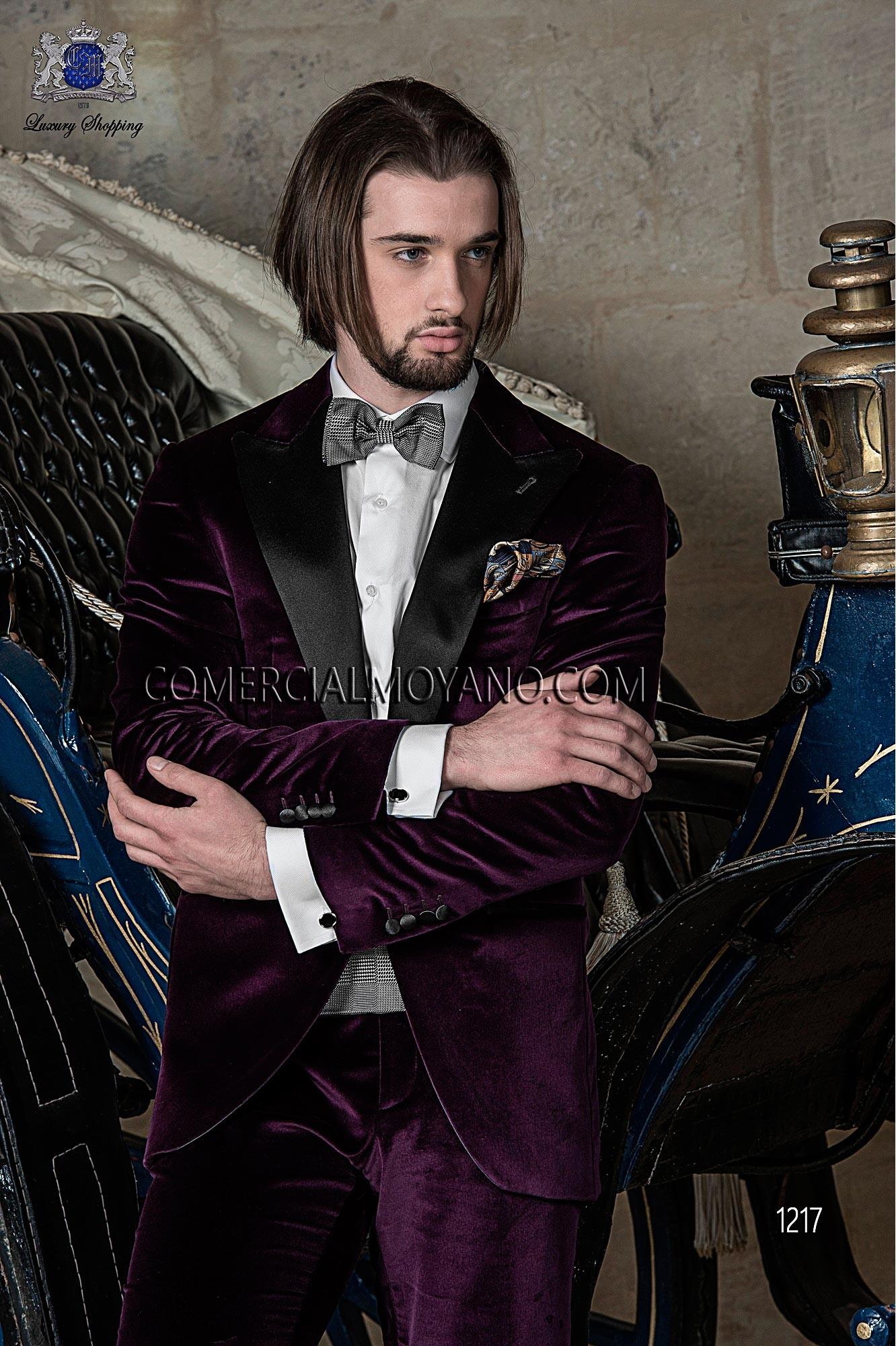 Traje de fiesta hombre morado modelo: 1217 Ottavio Nuccio Gala colección Black Tie