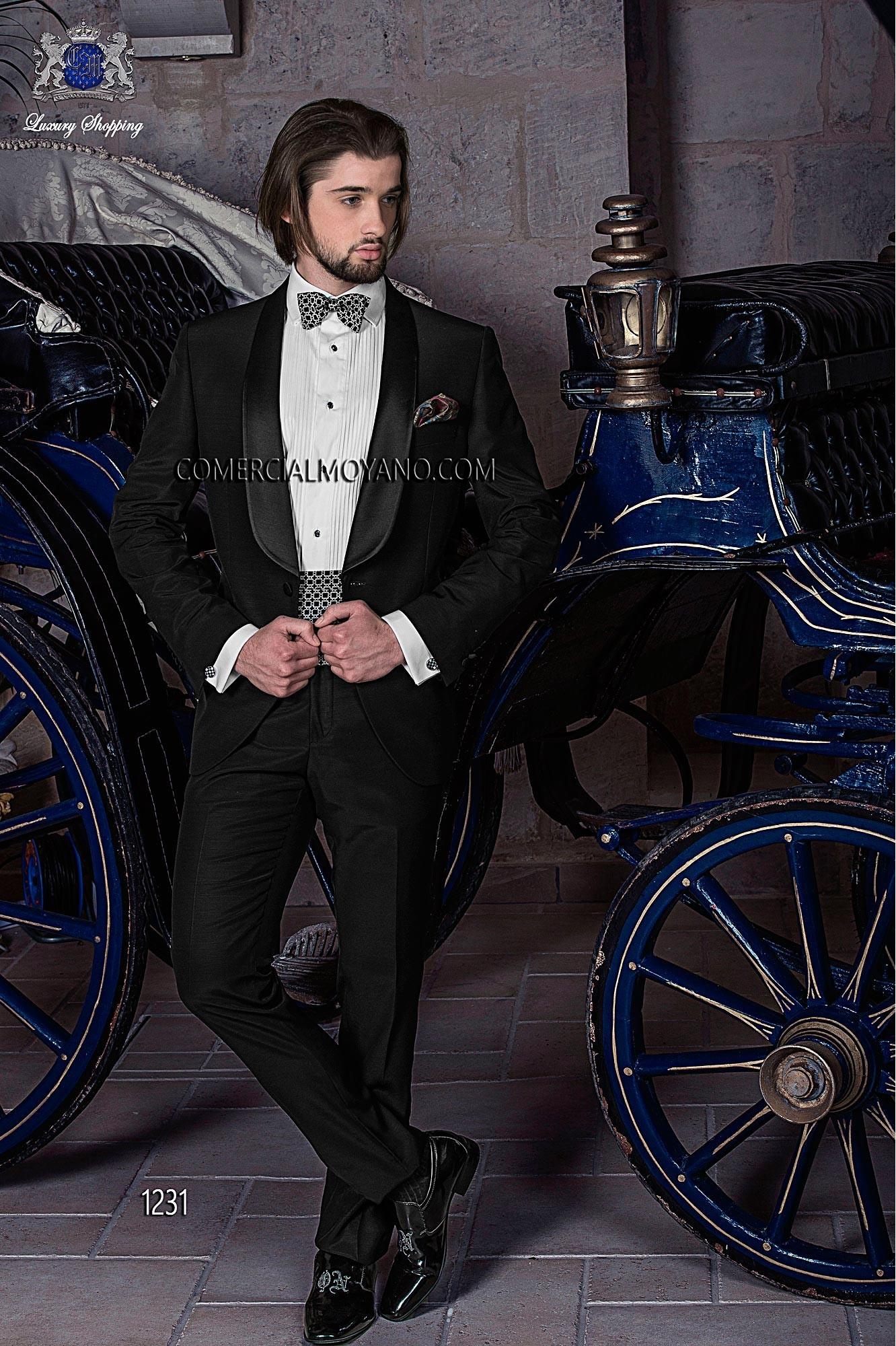 Traje de fiesta hombre negro modelo: 1231 Ottavio Nuccio Gala colección Black Tie