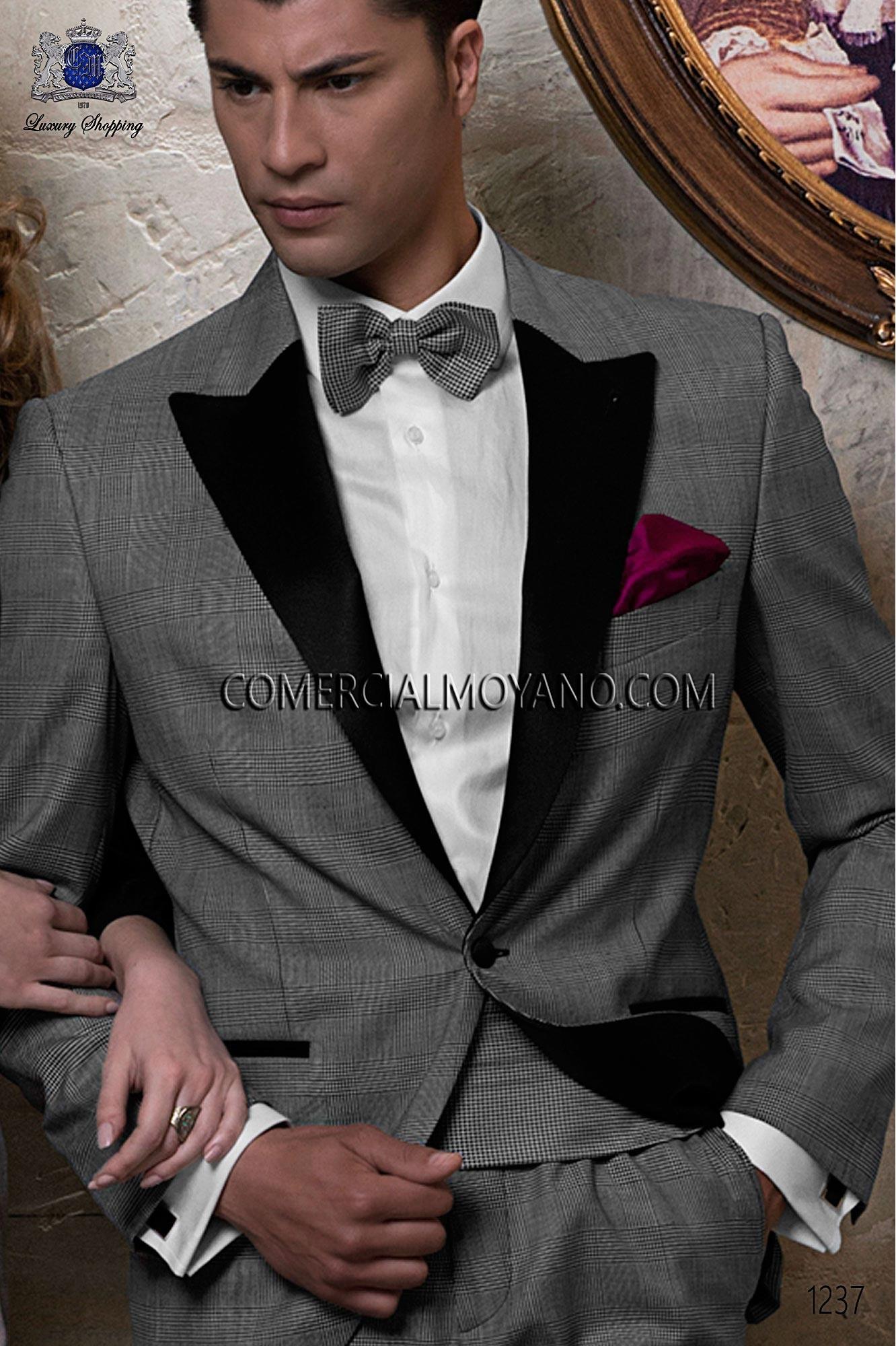 Italian blacktie Gray men wedding suit, model: 1237 Ottavio Nuccio Gala Black Tie Collection