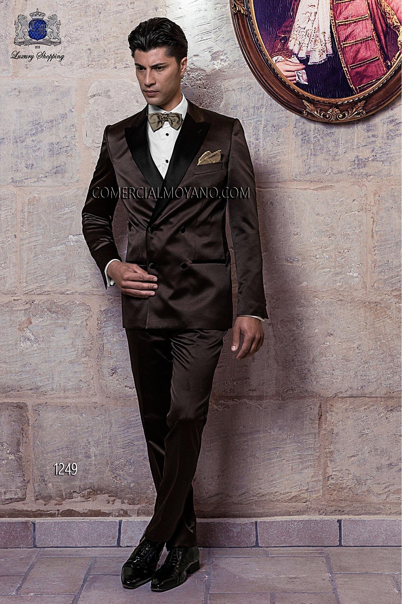 Traje de fiesta hombre marrón modelo: 1249 Ottavio Nuccio Gala colección Black Tie 2017