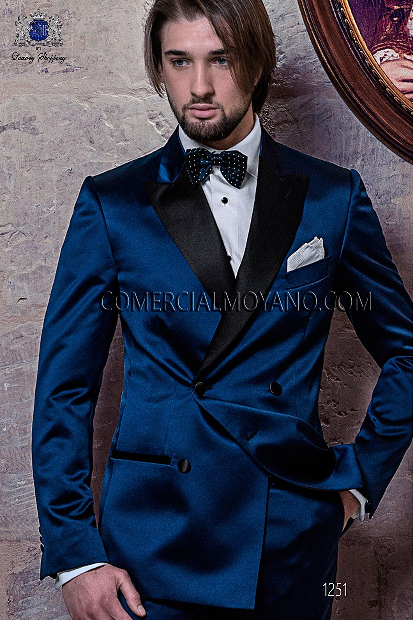 Black Tie Blue men wedding suit, model: 1251 Ottavio Nuccio Gala ...