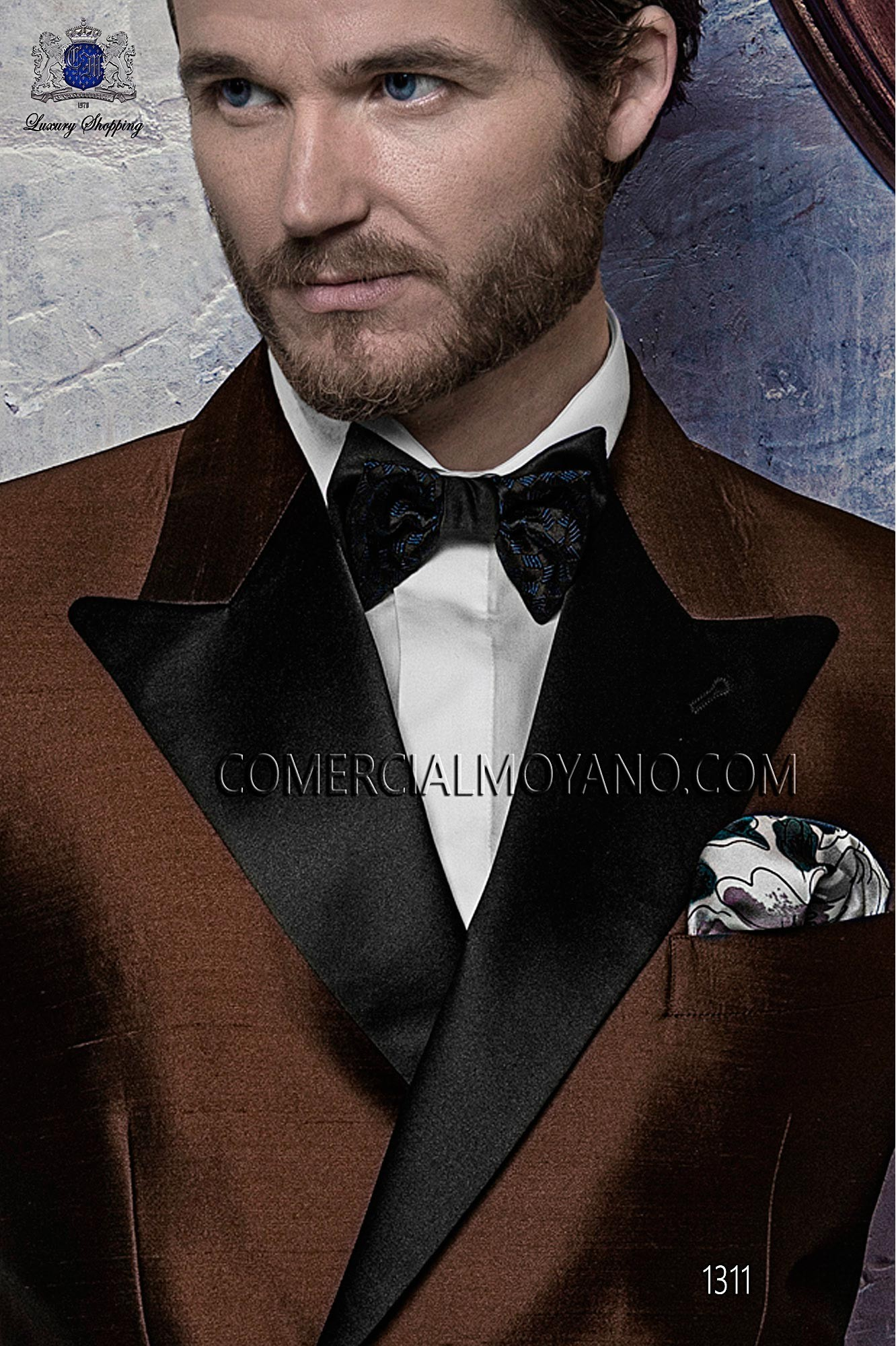 Black Tie Brown men wedding suit, model: 1311 Ottavio Nuccio Gala ...