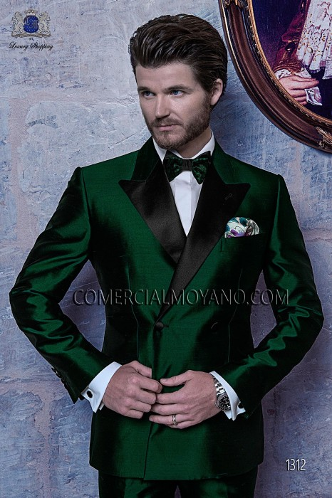Green wedding suit tuxedo